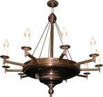 rustic medieval pendant lighting - bespoke manufacture