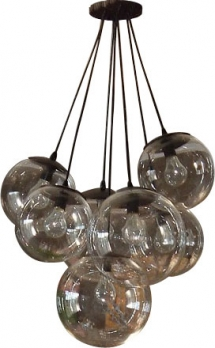 7 Acrylic balls lighting fixture modern custom