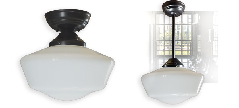 Modern Clic Schoolhouse Style Lighting 16in