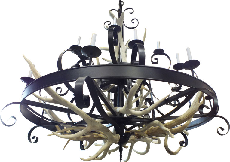 chandelier medieval custom lighting