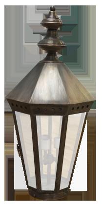 Lantern post light