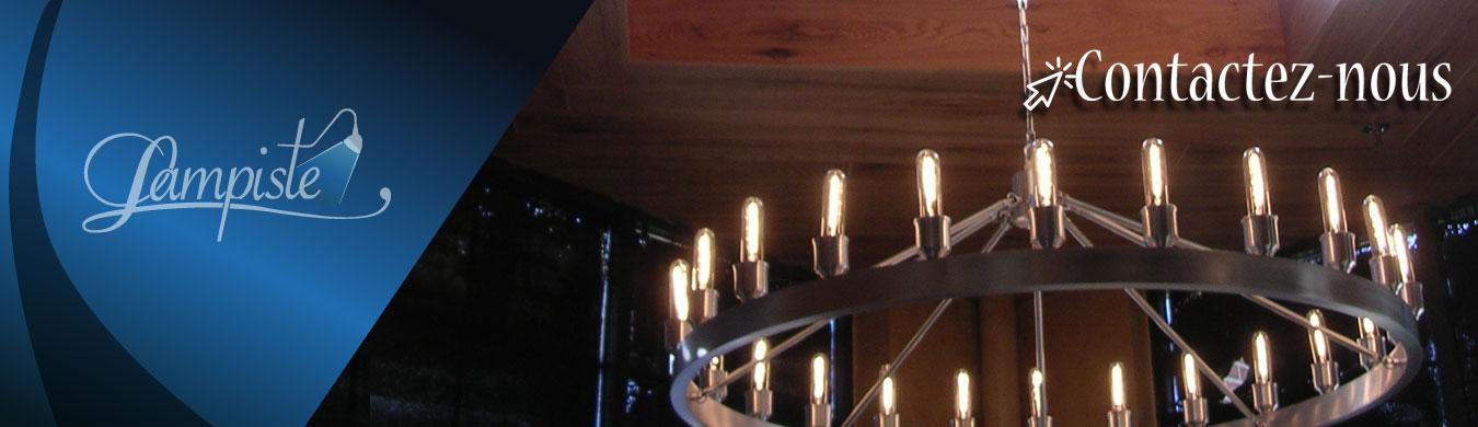 fabricant de luminaires sur mesure r paration de chandeliers lampes clairage. Black Bedroom Furniture Sets. Home Design Ideas