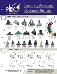 Specification sheet Gooseneck lighting 2017